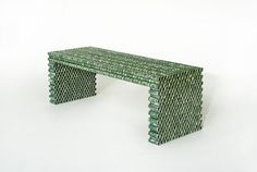 Furniture Made Out of Recycled Dollars and Coins | Mental Floss