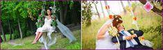 Altalena per la foto di nozze ripresa - idee con foto progettare
