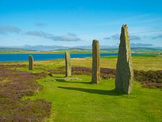 Ring of Brodgar in Orkney is a Neolithic henge and stone circle, ranking in importance with Stonehenge and Avebury. [photo: Shadowgate, via Flickr]