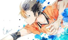 埋め込み Haikyuu Nishinoya, Haikyuu Fanart, Haikyuu Anime, Bokuto Koutarou, Akaashi Keiji, Anime Manga, Anime Guys, Anime Art, Kuroko