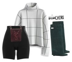"""""""Fall Wear"""" by naomichinx ❤ liked on Polyvore featuring Chicwish, SPANX, Givenchy and Yves Saint Laurent"""