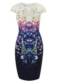 Hobbs floral print dress, 189
