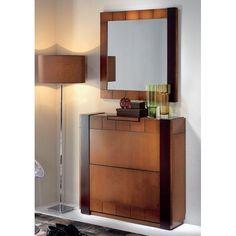 Muebles zapatero para entrada buscar con google - Espejos decorativos conforama ...