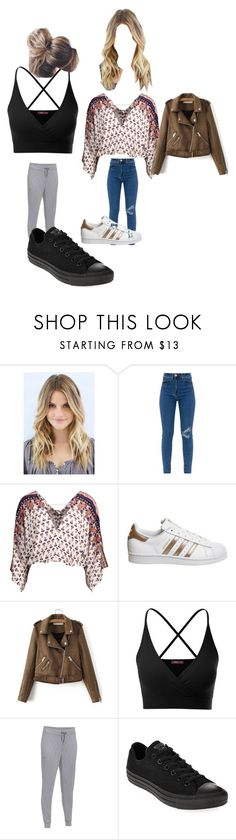 """Untitled #9686"" by lover5sos ❤ liked on Polyvore featuring adidas, Doublju, Under Armour and Converse"