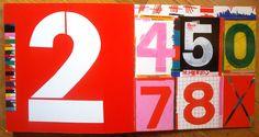 HASTA EL INFINITO - Kveta Pacovska. Factoría K de libros, 2010  #kvetapacovska  #numbers