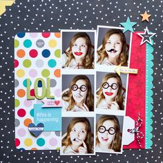 LOL - Scrapbook.com   This layout was created with products from Bella Blvd.