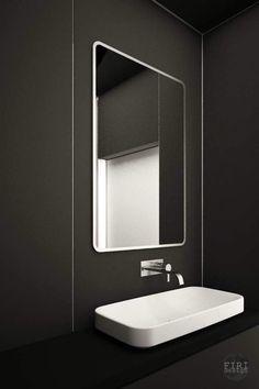 black bathroom krakow