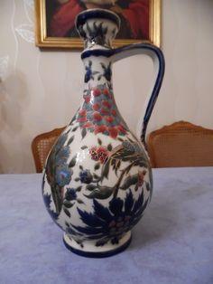 zsolnay 1890 Vase, Home Decor, Homemade Home Decor, Interior Design, Jars, Home Interiors, Vases, Decoration Home, Flowers Vase