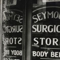 Beneath the Surface, Somerset House, Robert Brownjohn, photos of London street signs, 1961