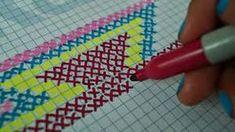 Kate's Crochet World Crochet Chart, Diy Crochet, Crochet Stitches, Crochet Flor, Crochet Ideas, Tapestry Crochet Patterns, Knitting Patterns, Mochila Crochet, Tapestry Bag
