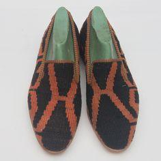 Vintage Kilim Loafers, Men's Shoes Euro Size 44, US Size 10.5-11 ...