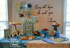 Travel, Vintage, Maps, Globes, World Baby Shower Party Ideas   Photo 4 of 32   Catch My Party
