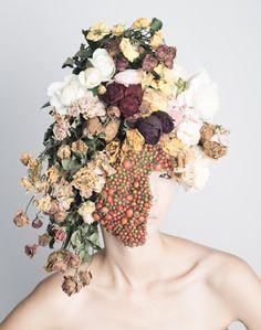 Botanical Headdresses by Takaya-5