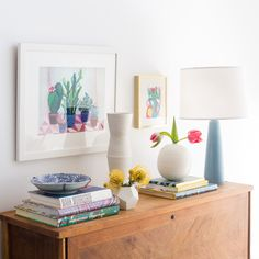 Quick Spring Vignettes Around The House