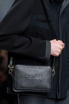 Fendi Fall 2020 Men's Fashion Show Details Milan Men's Fashion Week, Men Fashion Show, Mens Fashion Week, Daily Fashion, Fashion Bags, Sporty Fashion, Fashion Shirts, Ski Fashion, Fashion Watches