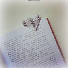 Dia dos Pais - Como fazer um marcador de livro em origami (P.A.P. - D.I.Y)