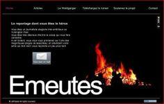 Reportage WebDoc exclusif sur les émeutes de Yumington.  Le reportage dont vous êtes le héros.