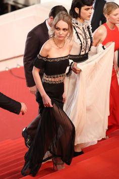 Lily-Rose+Depp+au+Festival+de+Cannes+2016