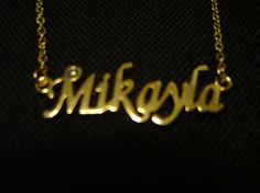 Mikayla: Gold Tone (Necklace)