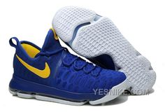 "quality design e26d2 7ed6a Buy Nike KD 9 ""Golden State Warriors"" Blue Yellow White 2018 Top Deals from  Reliable Nike KD 9 ""Golden State Warriors"" Blue Yellow White 2018 Top Deals  ..."