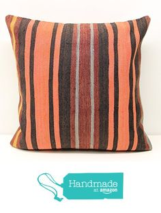 Square pillow cover 20x20 inch (50x50 cm) Rustic Kilim pillow cover Sofa Decor Accent Pillow cover Kilim Cushion Cover https://www.amazon.com/dp/B01M3Q0G5M/ref=hnd_sw_r_pi_dp_GMnaybD9PRN6Y #handmadeatamazon