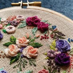 """5,169 Likes, 101 Comments - 刺繡作家 王瓊怡 Joanne (@up_in_the_hill) on Instagram: """"#broderie#ricamo#embroidery#bordado#handembroidery#needlework #hearts #love…"""""""