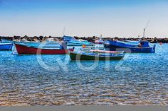 Qdiz Stock Photos | Boats on the water with waves,  #bay #blue #boat #fishing #harbor #motor #nautical #ocean #port #sea #ship #sky #summer #transport #Travel #vessel #water #wave
