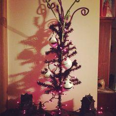 Jack Skellington tree I made for my sister.