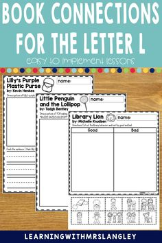 Do your pre-school or kindergarten students struggle when learning the LETTER L? Are you looking for proven activities that will actually help students master the alphabet? I can help! Immerse your students in a letter a day or week to quickly gain fluency in the alphabet. These lessons focus on recognizing the letter L and the initial sound and include detailed lesson plans, rhyming activities, math and science activities, art activities, and more! Rhyming Activities, Science Activities, Alphabet Book, Learning The Alphabet, Initial Sounds, Letter Identification, Letter To Parents, Teaching Letters, Letter L