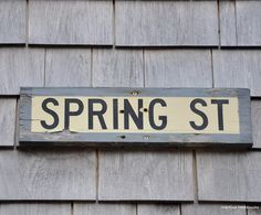 #Nantucket #île #island #street #grey #Cassandre & Quentin