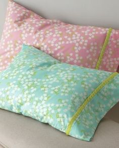 @Lilly Pulitzer Lilly of the Valley Percale Bedding    I could make these.