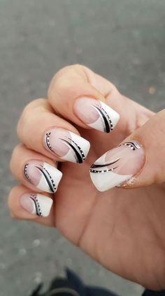 Gel Nail Art, Acrylic Nails, Gel Nails, French Manicure Designs, Nail Art Designs, Nail Tips, Nail Hacks, Nail Ideas, Nail Picking