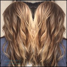 Seamless color with Natural Beaded Rows hair extensions by Jennifer at Graphics Hair Design 706-861-6500
