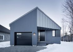 Naturehumaine's steel-clad Sorel House designed to stand out