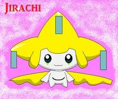 jirachi! I know I post quite a bit of jirachi, but I LOVE JIRACHI!!