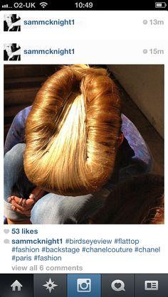 Sam McKnight Creates Rockabilly Rolls at Chanel Couture - Hairdressers Journal Sam Mcknight, Runway Hair, Chanel Couture, Great Hair, Rockabilly, Hair Inspiration, Catwalk, Cool Hairstyles, Curly