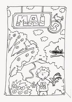 Home Decorating Style 2020 for Coloriage Mois Mai Maternelle, you can see Coloriage Mois Mai Maternelle and more pictures for Home Interior Designing 2020 11319 at SuperColoriage. Season Calendar, Calendar Time, Seasons Of The Year, Months In A Year, Weather For Kids, French Worksheets, French Education, Preschool Learning Activities, Teaching French