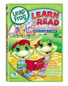 LeapFrog:  Learn to Read DVD for $4.66