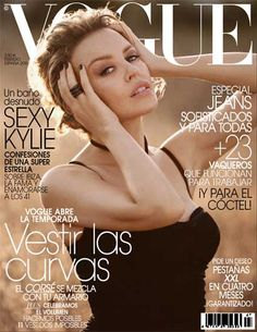 Kylie Minogue by Vincent Peters for Vogue España February 2010