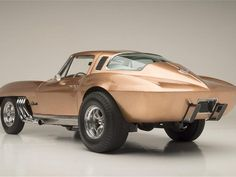 """1963 Chevrolet Corvette """"Asteroid""""  1963 Chevrolet Corvette """"Asteroid"""" Heads to Auction The Vette was built by the legendary George Barris from Barris Kustoms."""