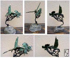 Sculpture HUMMING-BIRD