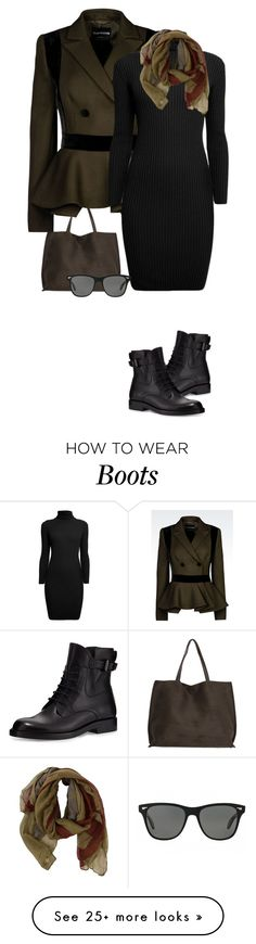 """""""Mama wears combat boots;)"""" by terry-tlc on Polyvore featuring Emporio Armani, Lanvin, Rumour London and Oliver Peoples"""