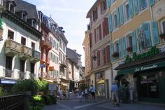 Evian, France. I was 15 last time I was there and I can only hope it lives up to the memories I have of it.