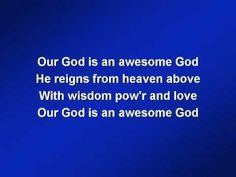 Hillsong Awesome God (worship video w/ lyrics)
