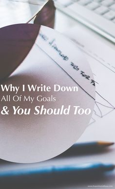 Writing down goals is key to any kind of success. It doesn't work to just keep them inside your head. Write them down and I can guarantee you'll see some significant change happening. www.howtoliveintheus.com