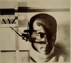 El Lissitzky, Constructor [Self-Portrait with Dividers], 1924