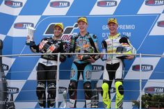#TcxRiders  Last weekend the Mugello GP gave a lot of satisfaction to the #TCX riders: Tito Rabat won the first race of the season, followed on the second step of the podium by Johann Zarco, who keeps maintaining the leadership in this world championship.   Great job guys!
