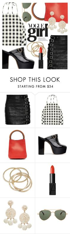 """Vogue Girl - Alexa Chung"" by ivansyd ❤ liked on Polyvore featuring Gucci, rag & bone, Marni, ABS by Allen Schwartz, NARS Cosmetics, Humble Chic, Givenchy and alexachung"