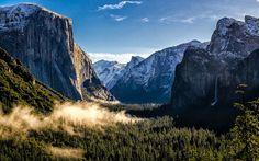 Tunnel View. Yosemite Valley. / 4lpine