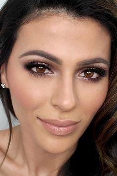 Best Eye Makeup Looks for Brown Eyes 4 | #Makeup | http://missmaven.com/wedding-makeup-dos-donts/
